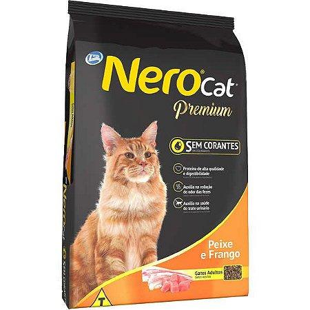 Ração Nero Cat Peixe e Frango - Para Gatos Adultos - 20kg