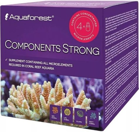 Aquaforest Components Strong - 4 Unidades de 75ml