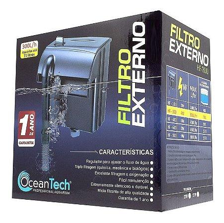 Filtro Oceantech HF-600 (650L/h) - Para Aquários de até 150 Litros