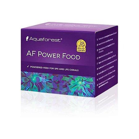 Aquaforest Power Food - Alimento para Corais de Aquários - 20g