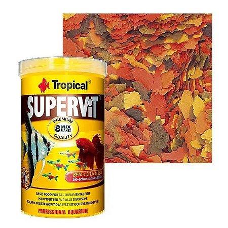 Ração Tropical Supervit - Para Peixes Ornamentais - 12g