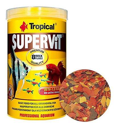 Ração Tropical Supervit - Para Peixes Ornamentais - 20g