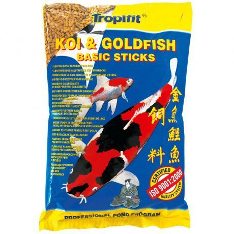 Ração Tropical Koi & Goldfish Basic Sticks - Para Peixes - 90g