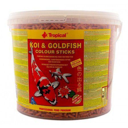 Ração Tropical Koi & Goldfish Colour Sticks - Para Peixes - 900g
