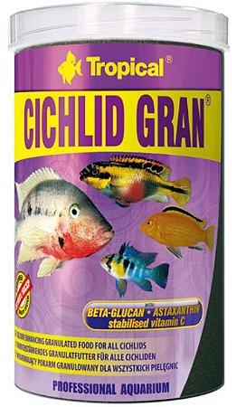 Ração Tropical D-allio Cichlid Gran - Para Peixes Ornamentais - 55g
