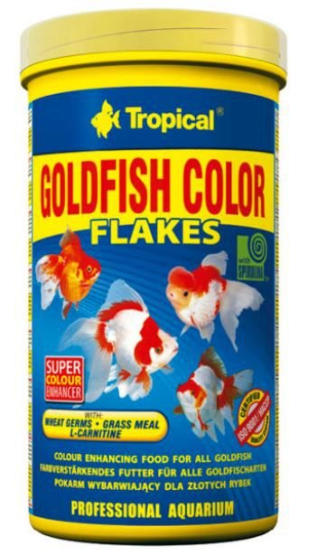 Ração Tropical Goldfish Colour Flakes - Para Peixes Ornamentais - 20g