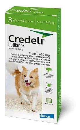 Antipulgas e Carrapatos Elanco Credeli - Para Cães de 11 a 22Kg