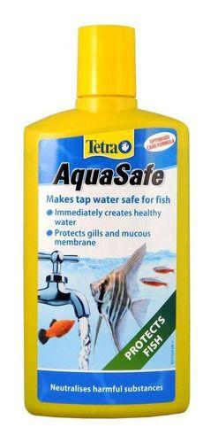 Condicionador de Água Tetra Aquasafe Para Aquários - 100ml