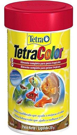 Ração Tetra Color Flakes - 100ml - 20g