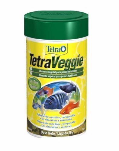 Ração Tetra Veggie Flakes – 20g