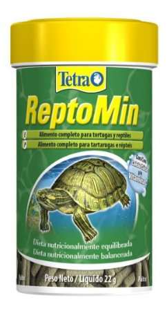 Ração Tetra Reptomin Sticks Para Tartarugas - 100ml - 22g
