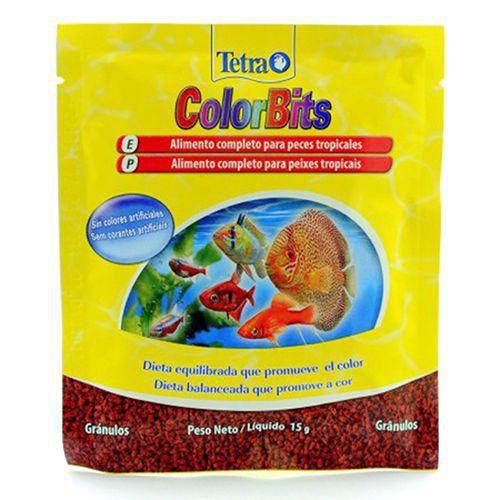 Ração Tetra Colorbits Granules – Sachê 15g