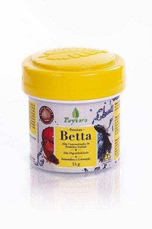 Ração Poytara Premium para Peixes Betta Mini - 14gr