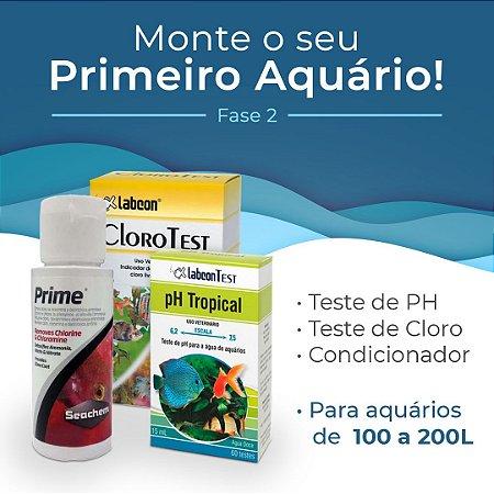 Kit Monte seu primeiro aquário de 100 a 200 Litros - Fase 2