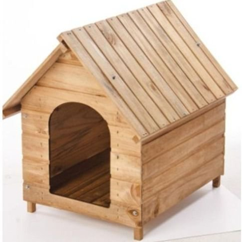 Casinha de Madeira Pet Lar para Cães - Nº 01