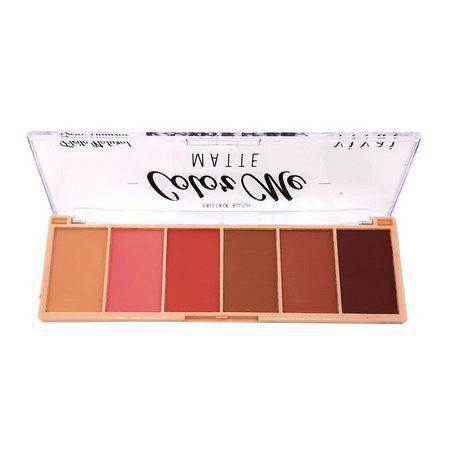 Paleta De Blush 06 Cores
