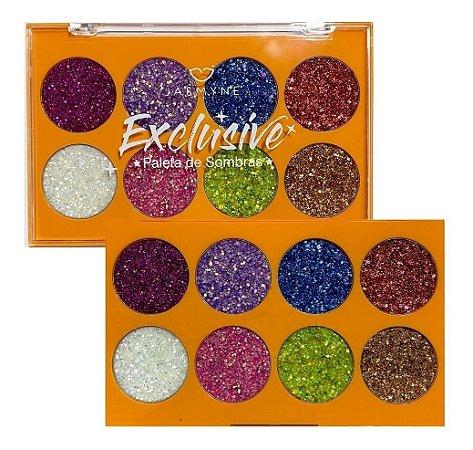 Paleta de Glitter Cor B - Jasmyne JS01058