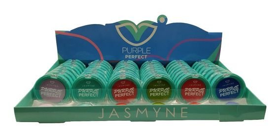 Caixa Paletade Sombra Purple Perfect C/48 und - Jasmyne JS06053