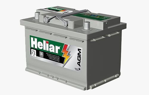 BATERIA AUTOMOTIVA HELIAR AGM START STOP AG70PD CCA760