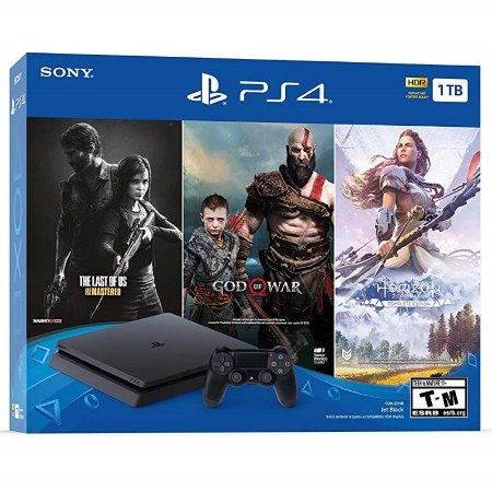 Console Sony Playstation 4 1TB SLIM Only On PlayStation Bundle