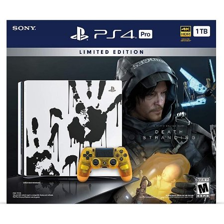 Console Sony Playstation 4 PRO 1TB DEATH STRANDING LIMITED EDITION