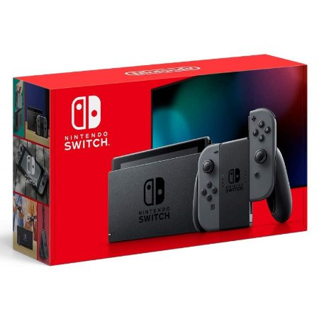 Console Nintendo Switch Gray (Novo Modelo)