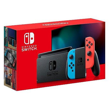 Console Nintendo Switch Neon (Novo Modelo)