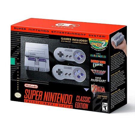 Console Super Nintendo SNES Classic Edition