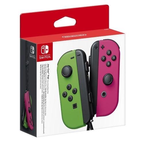 Nintendo Switch - Joy-Con (L/R) Neon Green/Neon Pink