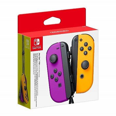 Nintendo Switch - Joy-Con (L/R) Neon Purple/Neon Orange