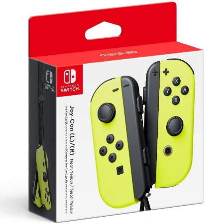Nintendo Switch - Joy-Con (L/R) Neon Yellow