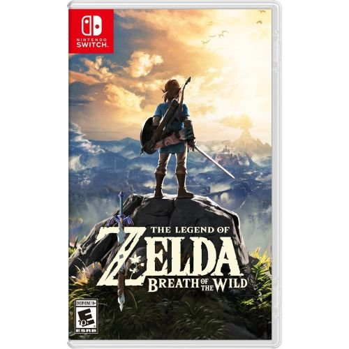 Zelda Breath of the Wild - Switch