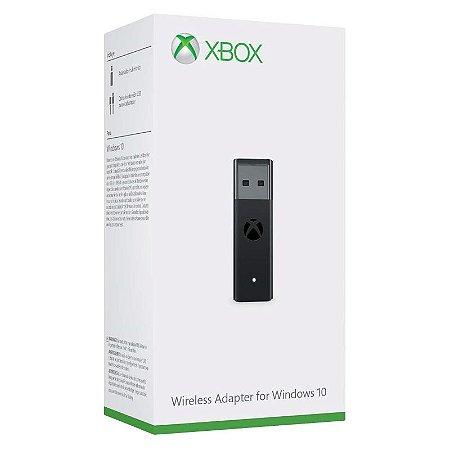 Adaptador sem fio Xbox One para Windows