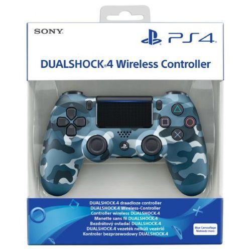 Controle Dualshock 4 Camuflado Azul (Novo Modelo) - PS4