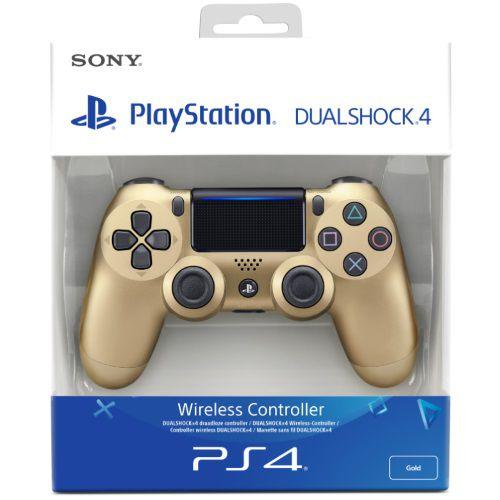 Controle Dualshock 4 Gold (Novo Modelo) - PS4