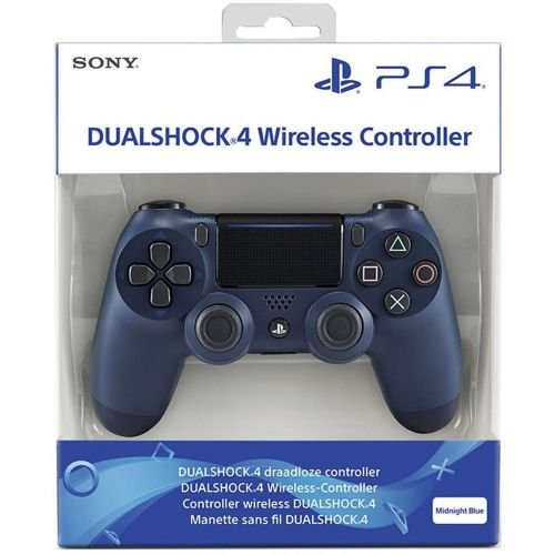 Controle Dualshock 4 Midnight Blue (Novo Modelo) - PS4