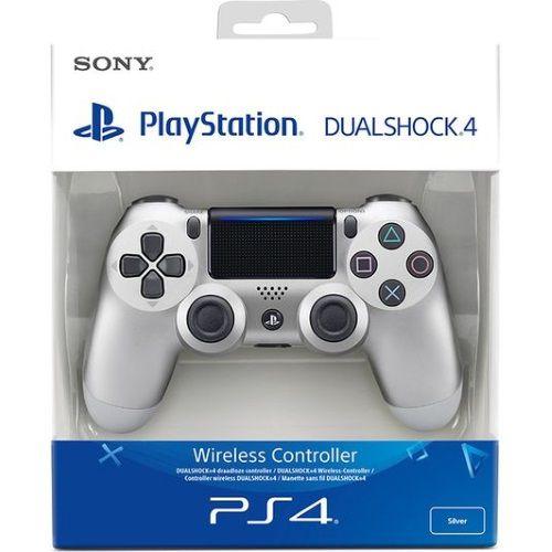 Controle Dualshock 4 Silver (Novo Modelo) - PS4