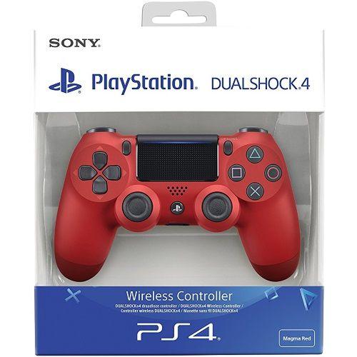 Controle Dualshock 4 Vermelho (Novo Modelo) - PS4