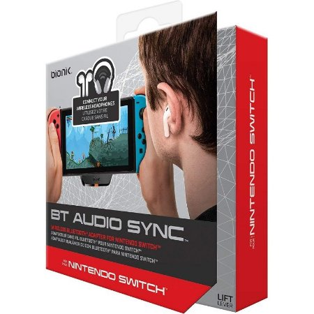 Bionik Bluetooth Audio Sync para Nintendo Switch