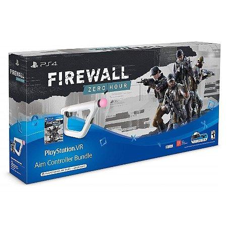 PlayStation VR Aim Controller Firewall Bundle - PS4