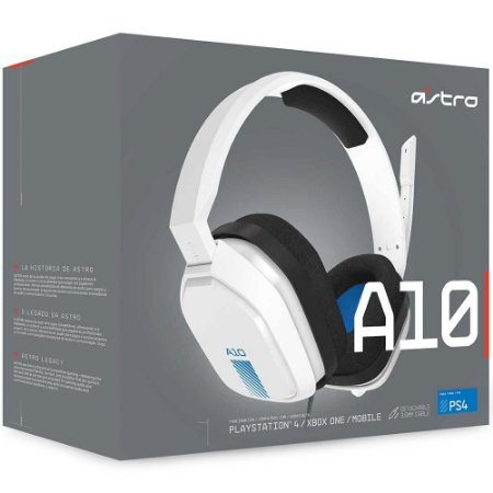 Headset Astro A10 BRANCO - PS4