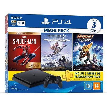 Console Playstation 4 1TB Slim Mega Pack 15