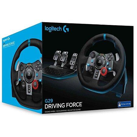 Volante Logitech G29 Driving Force PS5/PS4/PC