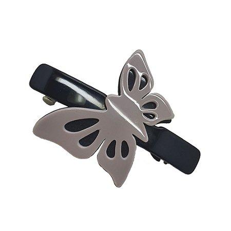 Prendedor barrete borboleta