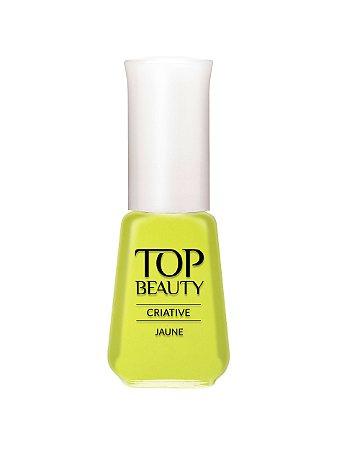 Esmalte Top Beauty Creative Jaune