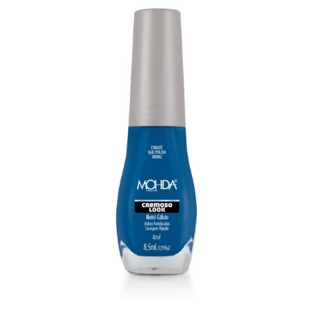 Esmalte Mohda Cremoso Look Azul