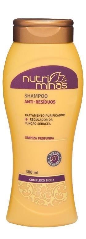 Nutriminas Shampoo Anti Resíduos 300ml