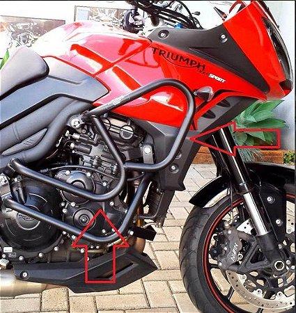 Protetor motor Superior Triumph Sport 1050 ( sem pedaleiras)!