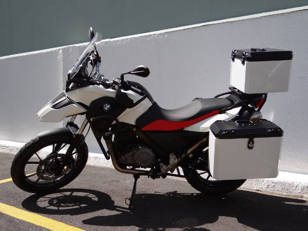 Baús Laterais BMW G 650 GS