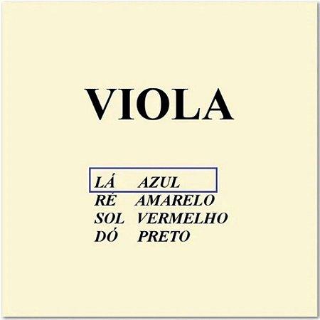 Corda Lá Viola De Arco Avulsa Mauro Calixto - Corda A Azul
